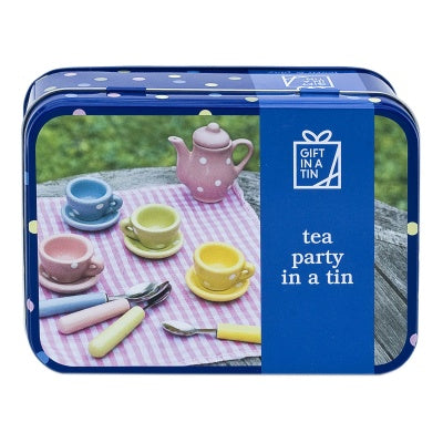 GIFT IN A TIN - TEA PARTY
