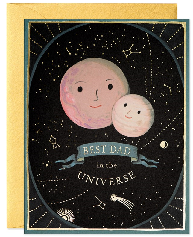 CARD - FATHER'S DAY - BEST DAD IN THE UNIVERSE