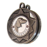 Dachshund Dog Id Tag Antique Silver Finish - Tags4Tails