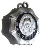 Havanese Dog Id Tag Antique Silver Finish - Tags4Tails
