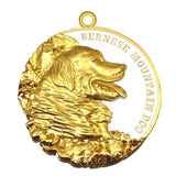 Bernese Mountain Dog Dog Id Tag Gold Finish - Tags4Tails