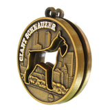 Giant Schnauzer Dog Id Tag Antique Gold Finish - Tags4Tails