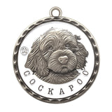 Cockapoo Id Tag Antique Silver Finish - Tags4Tails