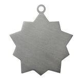 Boxer Id Tag Antique Silver Finish - Tags4Tails