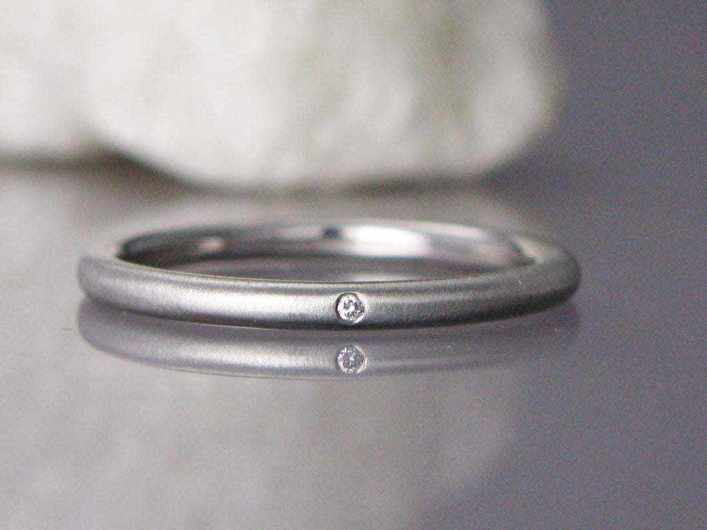band ring bands contour product sarah designs in curved diamond gold pave white laurie wedding