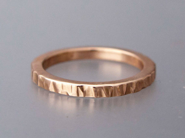 Square Wedding Band Custom Made in Gold, Palladium, or Platinum
