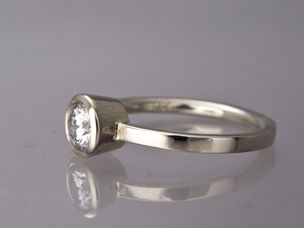carat engagement attachment of platinum viewing shaped diamond ring photo vintage gallery ct stone throughout rings pear