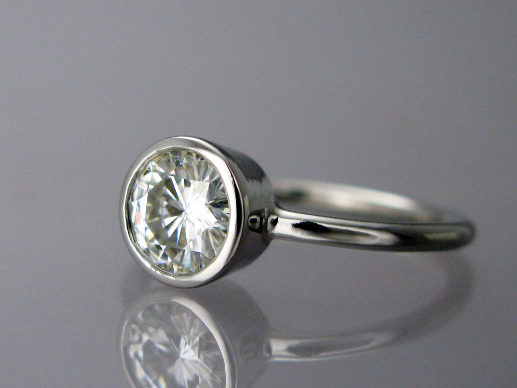portfolio jewelers skylight category archives ring heart platinum engagement moissanite
