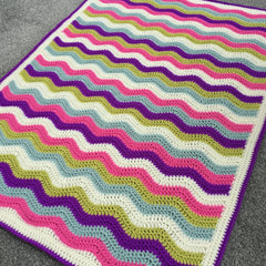 Blanket made with Colour Crafter