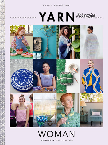 Scheepjes YARN Book-a-zine 5 - Women 2018