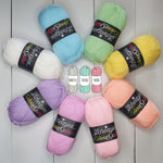 Pastel Rainbow Yarn Pack (Pre-Order Ships 13th May)