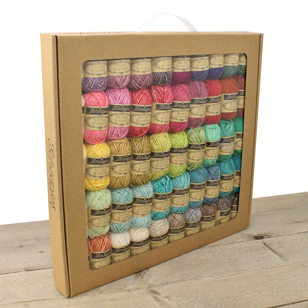 Scheepjes Stonewashed/Riverwashed Cutie Pie Colour Pack - Mrs Snufflebean