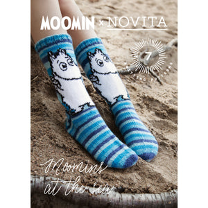 Load image into Gallery viewer, Moomin x Novita - Moomins at the Sea