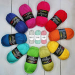 Bright Rainbow Yarn Pack (Pre-Order Ships 13th May)