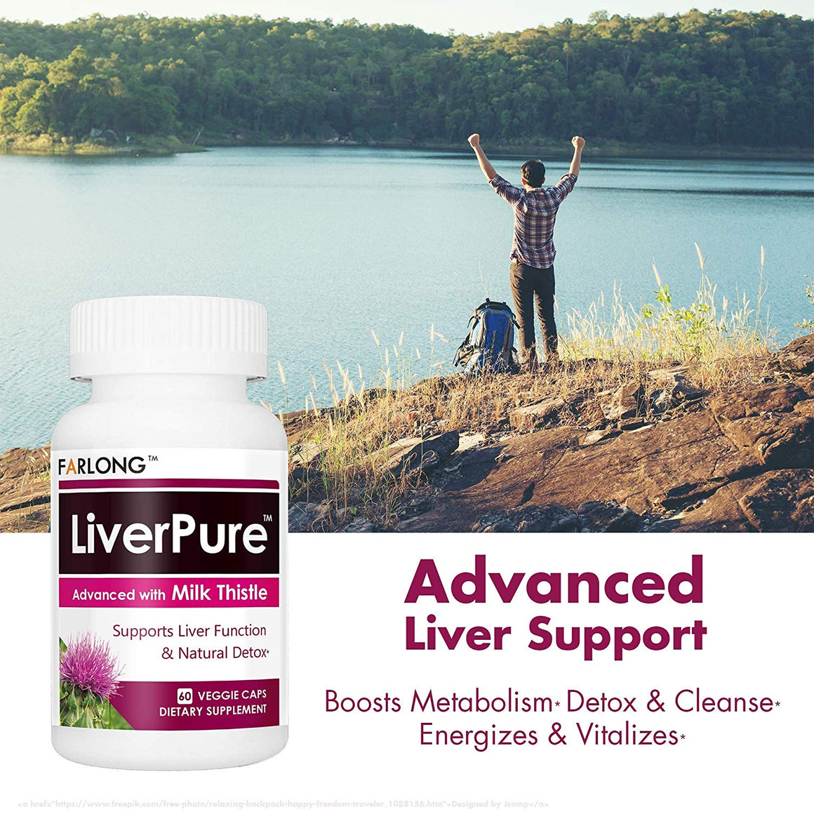 LiverPure™ Advanced with Milk Thistle