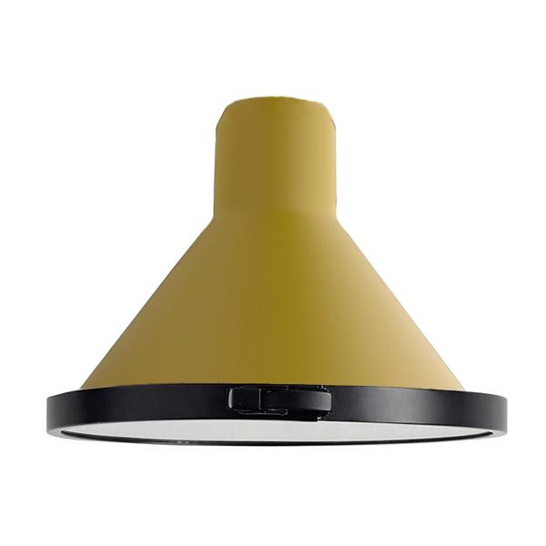 SHADE XL CONIC OUTDOOR Accessoire Lampen DCW EDITIONS Gelb satin Konisch