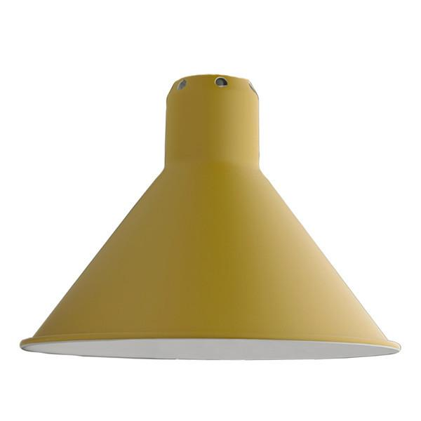 SHADE L CONIC Accessoire Lampen DCW EDITIONS Gelb satin Konisch