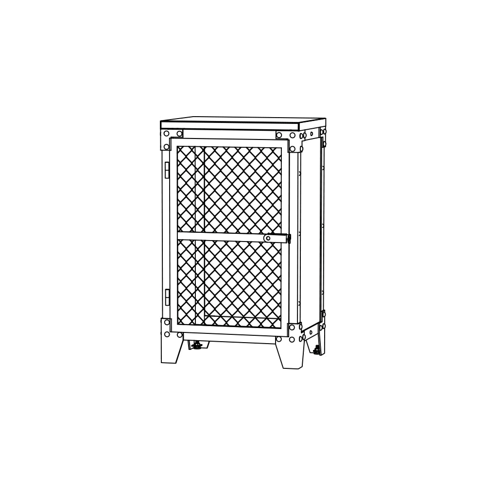 SIDEBOARD PX 1 MESH