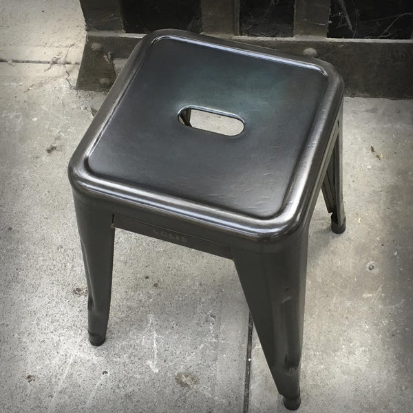 HOCKER H45 RAW GEFLAMMT Hocker RW547 Design