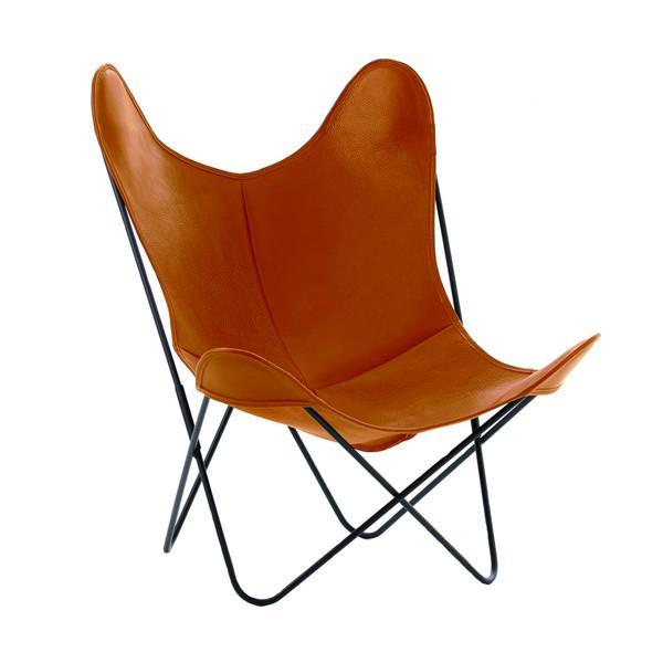BUTTERFLY CHAIR LEDER Sessel AIRBORNE