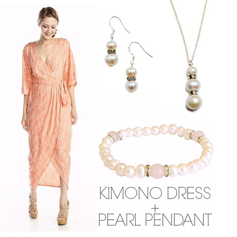 Kimono Wrap Dress Ethical Prom Pearl Style Guide
