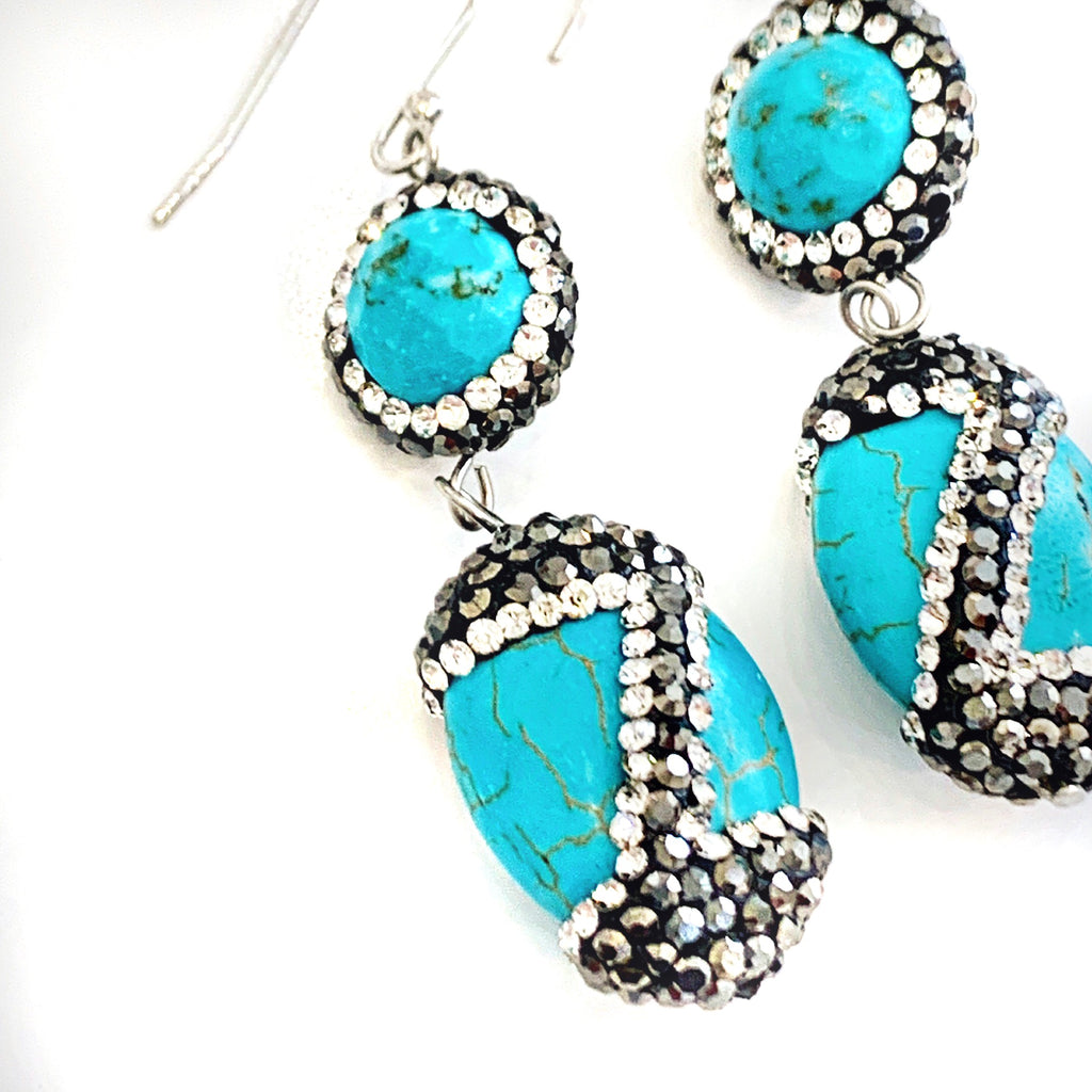 Isis Turquoise Earrings
