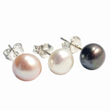 Essential 7mm Cultured Pearl Stud Earrings