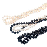 Gatsby rope Pearl Necklace extra long multiple styles