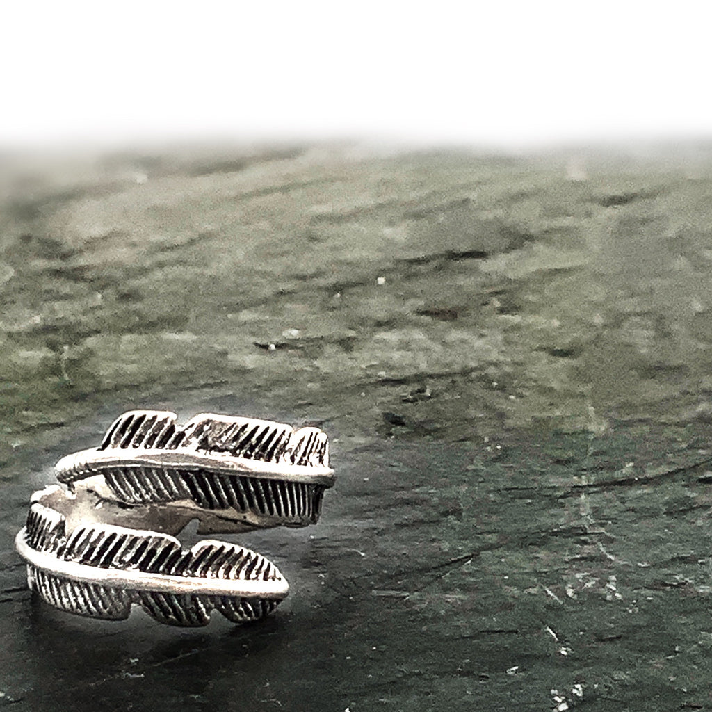 Ariel Feather Wrap Ring