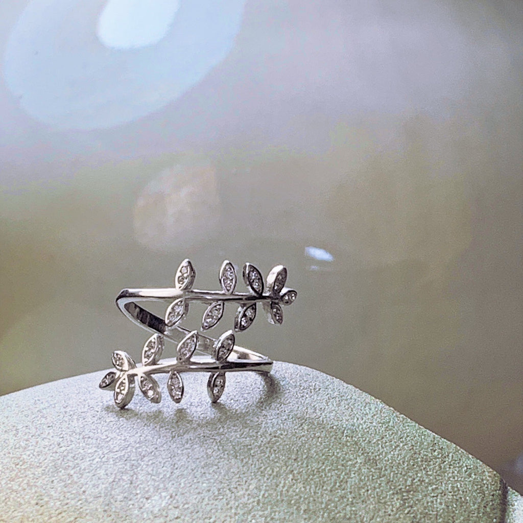 Olivia Sterling Silver Ring