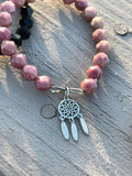 INTENTGEMS infinity dream catcher gemstone bracelet