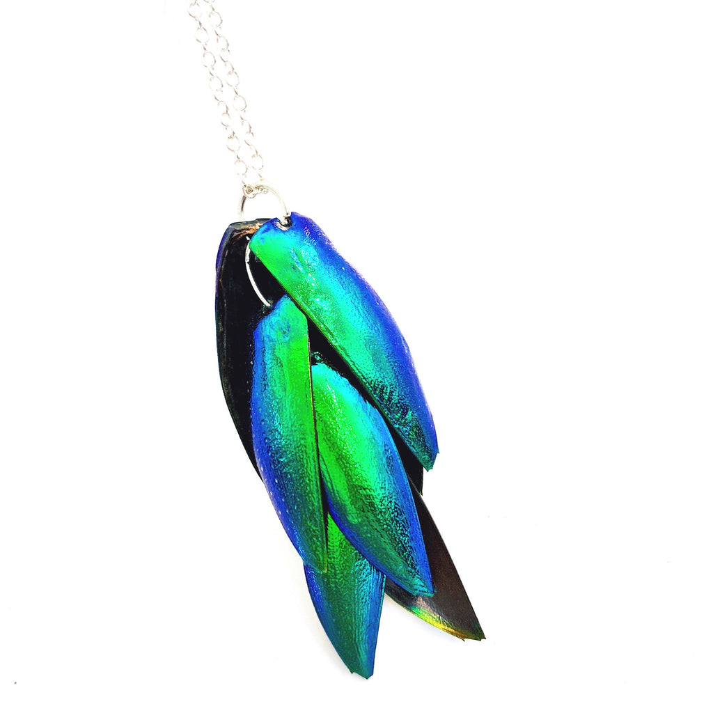 Jewel Wing Necklace