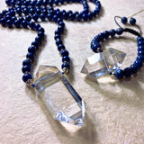 Power Quartz Crystal Necklace
