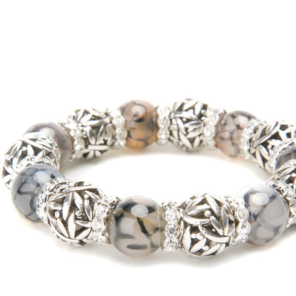 Serena Gemstone Statement Bracelet