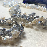 Kristin Pearl and Crystal Bracelet