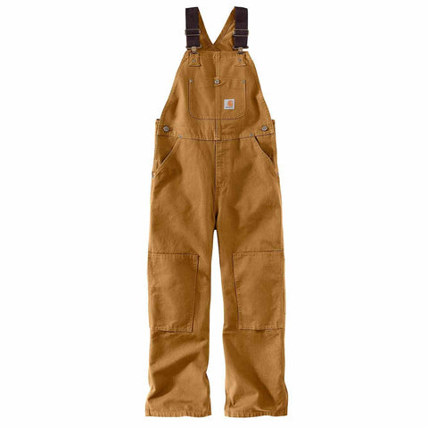 Kids Washed Duck Bib Overalls