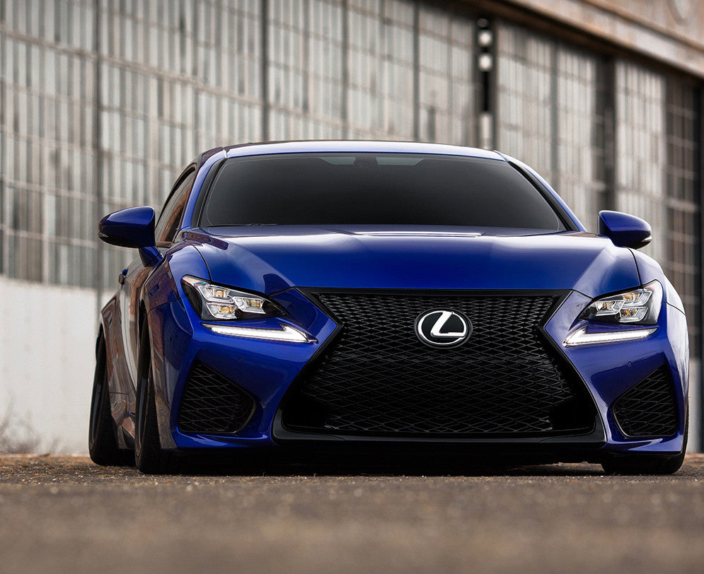 american racing headers lexus rc-f 5.0-liter v8 exhaust systems