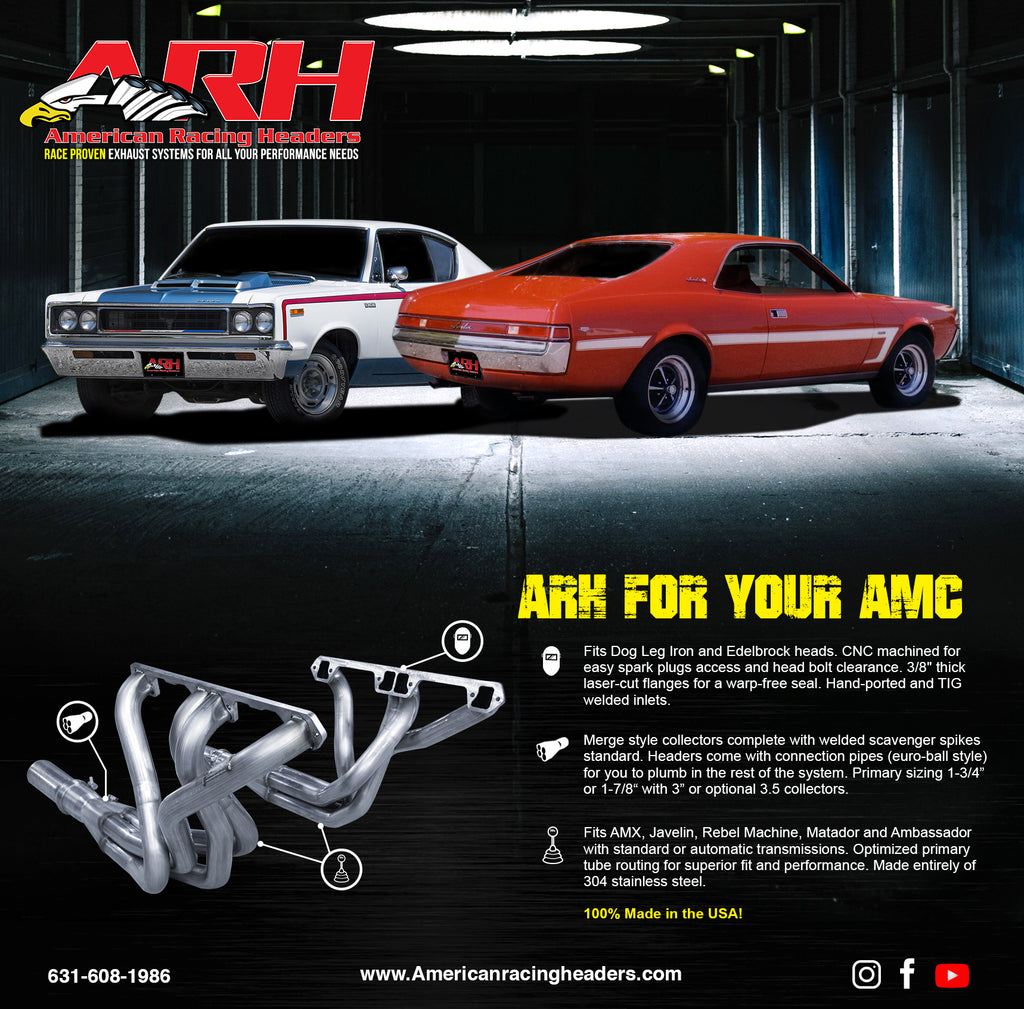 American Racing Headers Now Has Your AMC Header Needs Covered!
