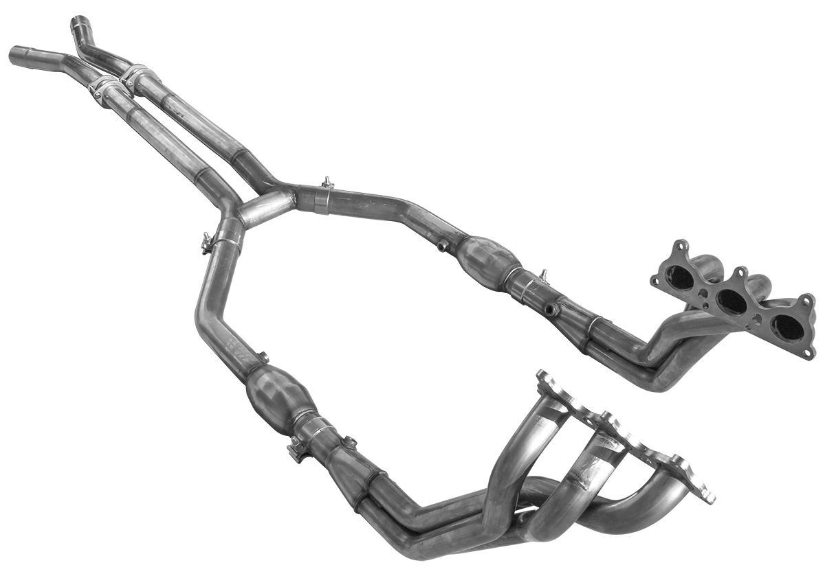 Camaro V6 2010-2011 Long System (with H-pipe)
