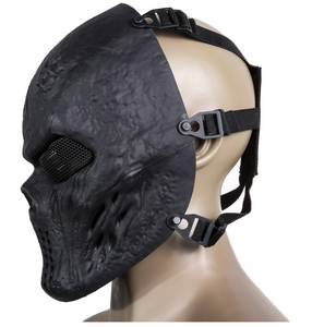 Face Protection Skull Mask Army Games Outdoor Metal mesh eye shield