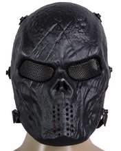 Load image into Gallery viewer, Face Protection Skull Mask Army Games Outdoor Metal mesh eye shield