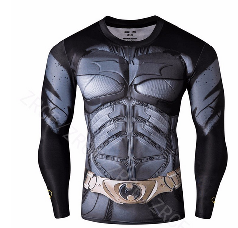 BATMAN Fitness Compression Shirt