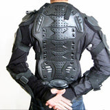 Professional Motorcycle Full Body Protective Armor Jacket Gear Protect Spine Chest