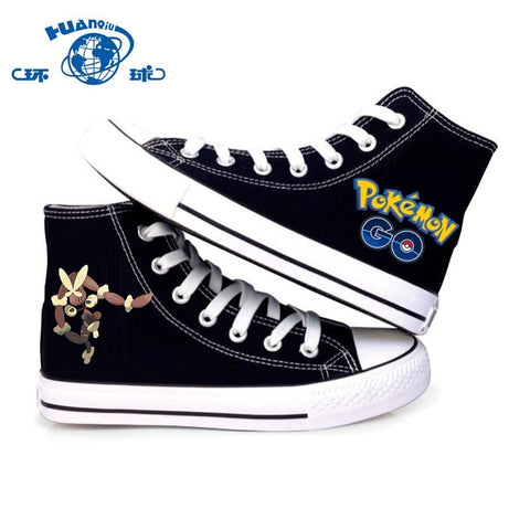 Canvas Shoes Fighting Type Normal Type Pokemon for Men & Women