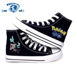 Ground Type Pokemon  Men & Women Casual Canvas Shoes