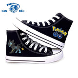 Electric Type Pokemon Canvas Shoes