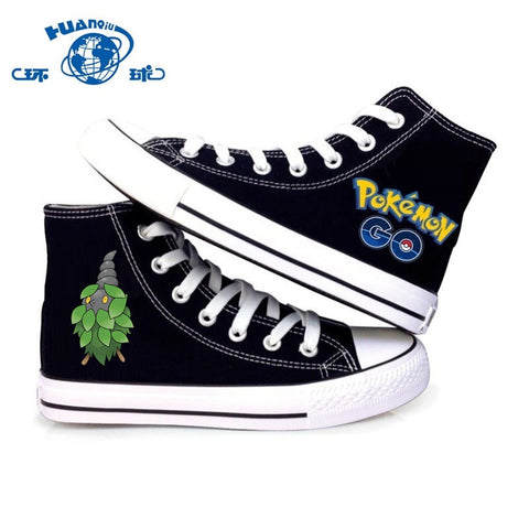 Bug Type Pokemon  Canvas Shoes