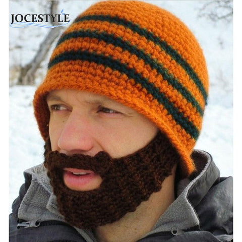 Winter Face Mask Beard Beanie Mustache Ski Snow Warmer Hat Cap