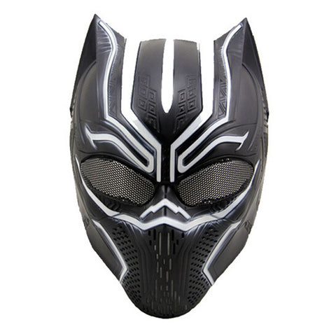 Free shipping Full Face Black Panther Masks