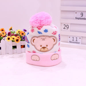 Baby Hat Kids Winter Hats Newborn Cap Hot Super Soft Cashmere Beanie Bonnet For Boys Girls